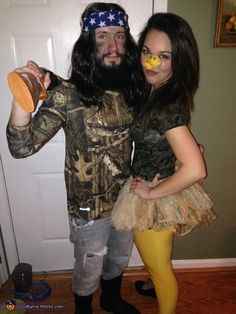 Maria: This year my boyfriend and I wanted a costume in which his beard that he has been growing and maintaining for nine months (and counting!) could be utilized. We both...