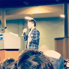 Josh Hutcherson at the Bernie Sanders rally 1.30.2016