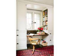 Library House – Jessica Helgerson Interior Design desk nook