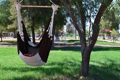 The Hammock Chair - http://www.instructables.com/id/The-Hammock-Chair/
