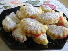 Mostkekse The emperor among my biscuits, crumbly, juicy – just delicious – you have to try it out – not just for Christmas Chef Recipes, Brunch Recipes, Cookie Recipes, Biscuits, Vegan Junk Food, Pudding Desserts, Polish Recipes, Holiday Cakes, Sweet Cakes