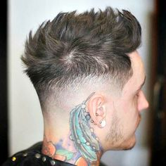 High Taper Fade with Quiff