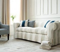 Eleganza Club Devon Sofa - A beautiful sofa available in generous sizes and hinting at Britain's maritime heritage.
