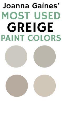 Greige Paint Colors, Best Paint Colors, Exterior Paint Colors, Paint Colors For Home, Wall Paint Colors, Paint Colors For Furniture, Bathroom Paint Colours, Basement Paint Colors, Office Paint Colors
