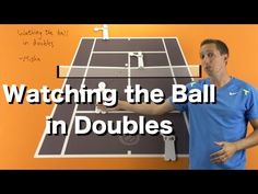 How to Watch the Ball in Doubles - Tennis Doubles Strategy Lesson