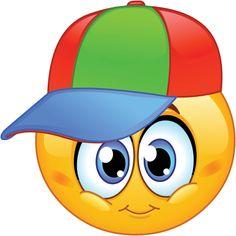 Illustration of Kid emoticon wearing a baseball cap vector art, clipart and stock vectors. Smiley Emoji, Smiley T Shirt, Emoticons Code, Facebook Emoticons, Funny Emoticons, Emoticon Faces, Funny Emoji Faces, Smiley Faces, Emoji Pictures