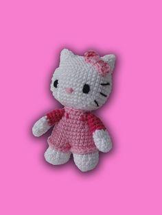 Hello Kitty Crochet Pattern by IlDikko on Etsy 67ad06ba5ccd
