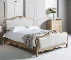 Bed with columns end XVIII C. Louis XVI | Bedroom | Pinterest ...