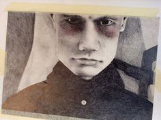 Billy Corgan, pencil study.