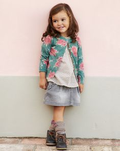 Colección Toddler otoño 2012 - Look 13.. love the flowers