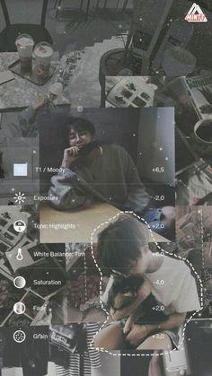 Bangtan lockscreen (collages,moodboard) [Hoseok] #BTS #HOSEOK #j-hope Foto Editing, Photo Editing Vsco, Photography Filters, Photography Editing, Photos Tumblr, Fotografia Vsco, Best Vsco Filters, Vsco Themes, Vsco Presets
