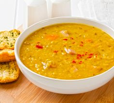 Find easy, healthy and free recipes on the AARP food channel. We have the the easy dinner recipes and healthy lunch ideas you need. Lentil Soup Recipes, Red Lentil Soup, Healthy Soup Recipes, Baby Food Recipes, Easy Dinner Recipes, Healthy Snacks, Cooking Recipes, What's Cooking, Vegetarian Protein