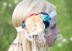 Baby Headbands-Matilda Jane Inspired Headband-Newborn Headband-Matilda Jane Good Hart Headband-Flower Girl Headband-Fall Wedding