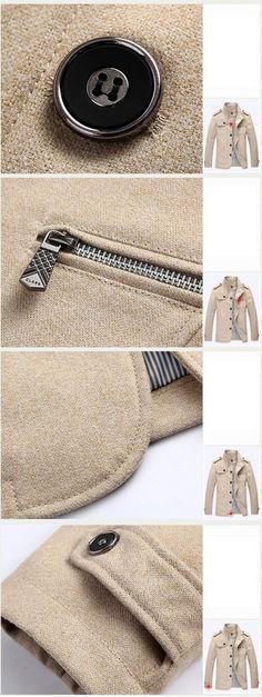 1fec3a6d17c New Arrival Fashion Men s Wool Coat Men Winter Jacket Man Business Casual  Brand Clothing Slim Autumn