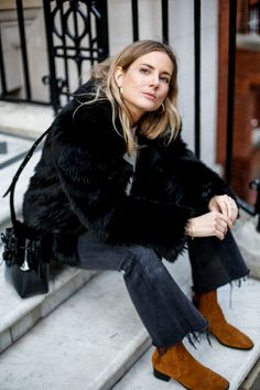 Faux Pas | Fashion Me Now Fashion Me Now, Fashion Outfits, Fasion, Lucy Williams Style, Everyday Dresses, Parisian Style, Autumn Winter Fashion, Winter Style, Street Style Women