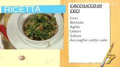 Tuscan old style recipe! Cacciucco di Ceci (Chick Peas)