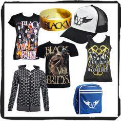 Awesome Black Veil Brides stuff! I Need it!!!!