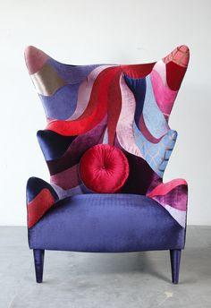 'Wing-chair by One-D Studio - Thailand'