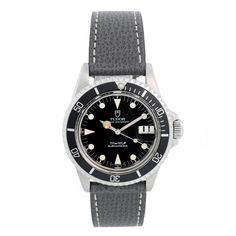 Did you know DeMesy.com specializes in Rolex watches? We offer all current models and many vintage and discontinued/collectible models like this pre-owned Tudor Rolex Submariner. Tudor Submariner, Rolex Submariner, Vintage Rolex, Vintage Watches, Air Tiger, Omega Speedmaster Racing, Stainless Steel Rolex, Rolex Logo, Rolex Watches For Men
