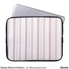 Choose from a variety of Elegant laptop sleeves or make your own! Shop now for custom laptop sleeves & more! Custom Laptop, Feather Pattern, Best Laptops, Personalized Products, Laptop Sleeves, Feathers, Abstract, Elegant, Collection