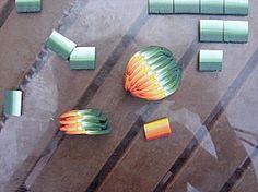 Polymer clay tutorial for petals: D'Eloise. Petit tuto pour .............. - le blog fimoeloise par : D' ELOISE