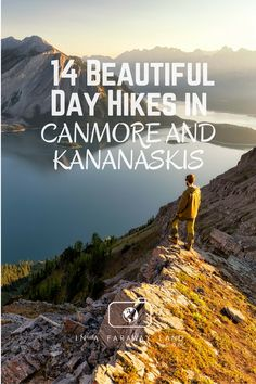 A list of the best hikes around Canmore and Kananaskis Country with detailed descriptions length elevation changes and much more. An informative post to help hikers choose their next best hike in the Canadian Rockies Travel Vacation List Holiday Tour Trip Canadian Travel, Canadian Rockies, Hiking Guide, Hiking Trails, Canada Day, Vancouver Island, British Columbia, Quebec, Lac Louise