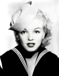 "NOT Marilyn! This is Marilyn's face put on Alice Faye's head.  ""MM"""