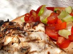 Honey Barbequed Chicken - Andalucian Chicken Recipes