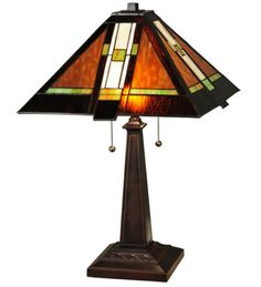 Montana Mission Table Lamp - Western Decor - Cabin Decor Available now on Lights in the Northern Sky www.lightsinthenorthernsky.com