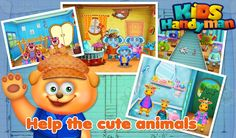 Kids HandyMan by GameCastor encourage kids to help you in household work repairing to cleaning. Free Android Games, Android Apps, Fun Games, Games For Kids, Kids Hands, Google Play, Household, Cute Animals, Activities