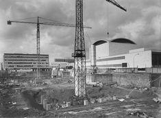 E42 - Palazzo dei Congressi in costruzione