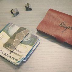 Using the Fells Money Clip today for the ultimate slim wallet.  #moneyclip #money #edc #everydaycarry #photo #leathercraft #leather #cash #cufflinks #moderngentleman #moderngent #gent #suit #suitandtie #3dprinting #3dprint #dapper #dappergent #wallet