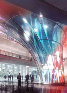 The Future Miami Beach Convention Centre by Fentress Architects in Miami, Florida, United States