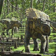 Nova espécie de dinossauro 'narigudo' é descoberta nos EUA - Ciência - iG