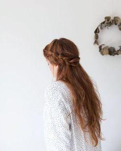 thick braid crown