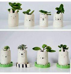 Ceramica Ceramic Clay, Ceramic Planters, Ceramic Pottery, Pottery Art, Clay Projects, Diy Craft Projects, Kids Clay, Clay Vase, Pottery Classes