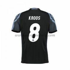 Fodboldtrøjer La Liga Real Madrid 2016-17 Kroos 8 3. Trøje