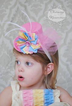 Pastel Mini Top Hat