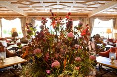 Summer inside and outside the Gstaad Palace