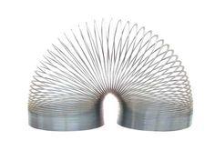 Original Slinky...used to get . So tangled.