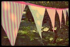 Banderines de tela para cualquier ocasión.