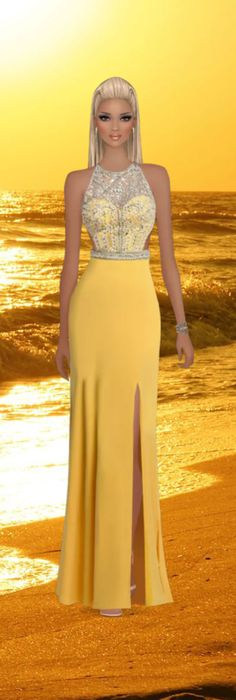 Covet Fashion Game  Sunset Spirit  Five Star Winning Look by JustPeachy
