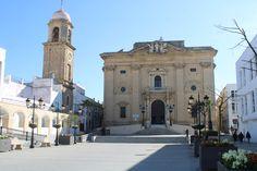 Iglesia de San Juan Bautista en Chiclana de la Frontera Notre Dame, Building, Travel, Saints, John The Baptist, Viajes, Buildings, Trips, Traveling