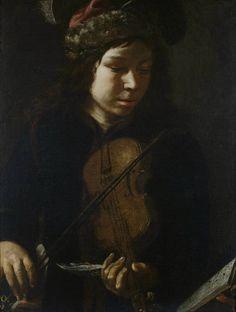 Joven violinista, de Rembrandt