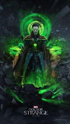 Doctor Strange : les plus belles affiches de fans Marvel Doctor Strange, Doctor Strange Poster, Doc Strange, Strange Art, Ms Marvel, Marvel Comics, Heros Comics, Marvel Heroes, Anime Comics