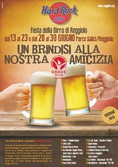 Festa della Birra a Reggiolo - dal 13 al 23 e dal 28 al 30 Giugno!  http://www.reggiolo.org/news/torna-la-festa-della-birra-di-reggiolo