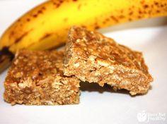 Banana Nut Protein Bars - busybuthealthy.com