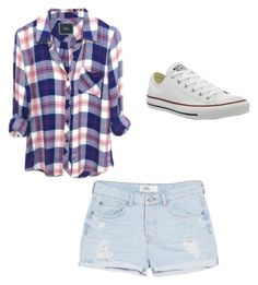 """""""Untitled #32"""" by okie101 on Polyvore featuring MANGO and Converse"""