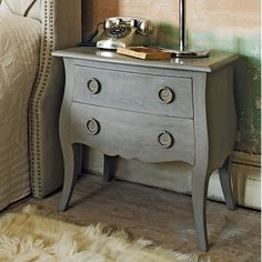 Edith Wooden Bedside Table - Bedside Tables - Furniture