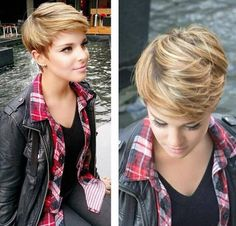 Love the style of this. Not that I'm good at styling my hair.